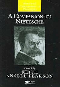 A Companion to Nietzsche - Keith Ansell Pearson (ISBN 9781405116220)