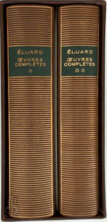 Oeuvres complètes - Paul Eluard, Marcelle Dumas, Lucien Scheler