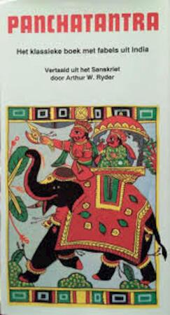 Panchatantra - Arthur W. Ryder, Rudi Jansma