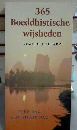 365 boeddhistische wijsheden - Vimalo Kulbarz, Pieter Cramer