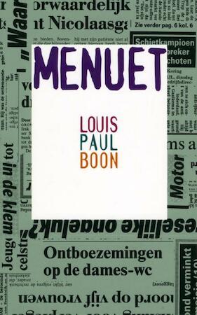 Menuet - Louis Paul Boon