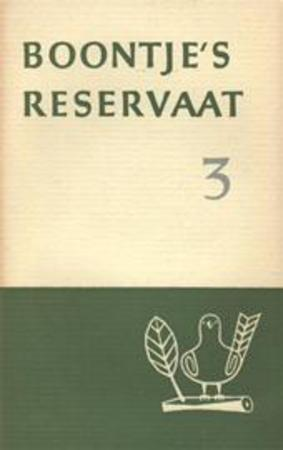 Boontje's reservaat 3 - Louis Paul Boon