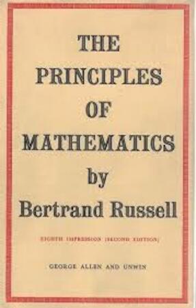 Principles of Mathematics - Bertrand Russell
