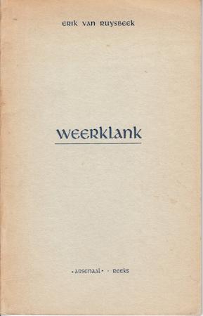 Weerklank - Erik van Ruysbeek