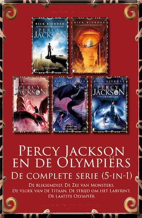 Percy Jackson en de Olympiërs – De complete serie (5-in-1) - Rick Riordan
