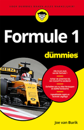 Formule 1 voor dummies e book joe van burik isbn for Booking formule 1