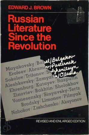 Russian Literature Since the Revolution (Paper) - Ej Brown