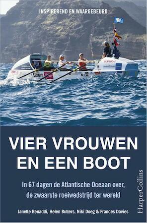 Vier vrouwen in een boot - Janette Benaddi, Helen Butters, Helene Butters, Niki Doeg, Frances Davies
