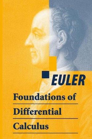 Foundations of Differential Calculus - Euler