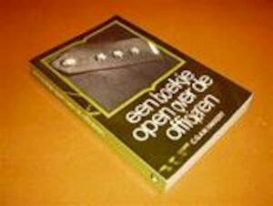 Een boekje open over de officieren - C. G. A. W. Hakkert