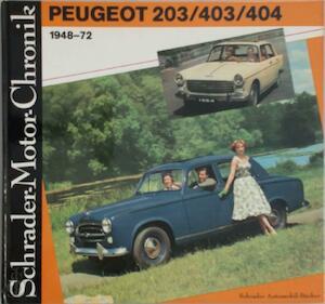 Peugeot 203/403/404 1948-72 - Walter Zeichner