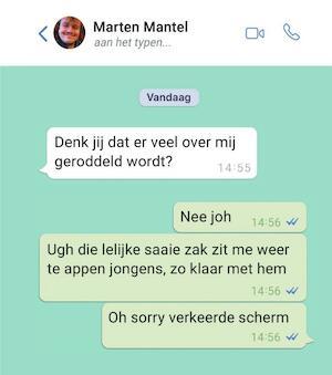 Aan het typen… - Marten Mantel