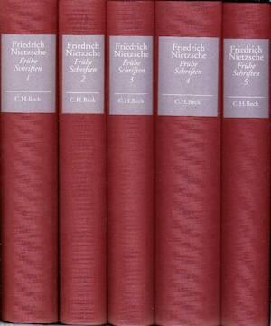 Frühe Schriften. In 5 Bänden - Friedrich Nietzsche