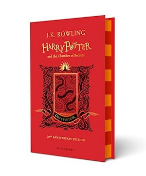 Harry Potter and the Chamber of Secrets - Gryffindor Edition - J.K. Rowling