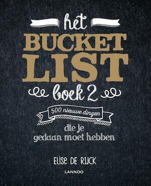 Het Bucketlist boek 2 - Elise De Rijck