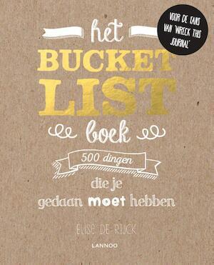 Het Bucketlist-boek - Elise De Rijck