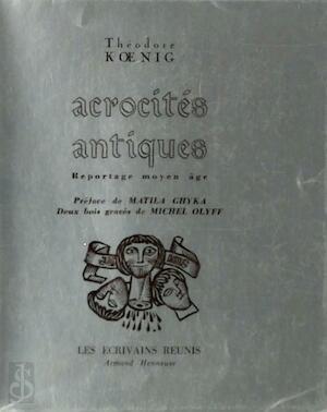 Acrocités antiques - Théodore Koenig