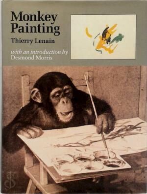 Monkey Painting - Thierry Lenain