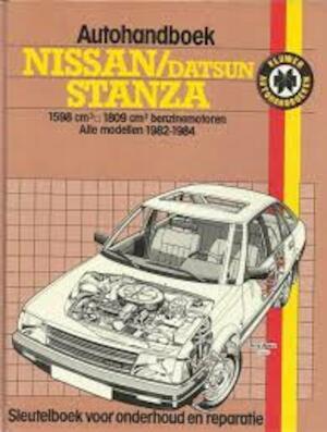 Autohandboek nissan datsun Stanza - Strasman