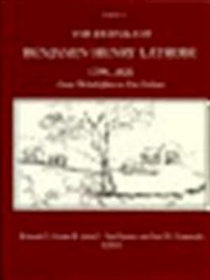 The journals of Benjamin Henry Latrobe, 1799-1820 - Benjamin Henry Latrobe, Edward Carlos Carter, John C. Van Horne, Lee W. Formwalt, Maryland Historical Society