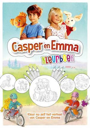 Casper en Emma kleurboek - Eddie Dibba