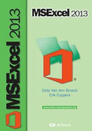 Ms excel 2013 - Van Den Broeck