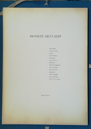 Honest Arts Map - Louis Paul Boon, Simon Vinkenoog, Jan [Ill.] Burssens, Camille [Ill.] D'Have, Roger [Ill.] Serras