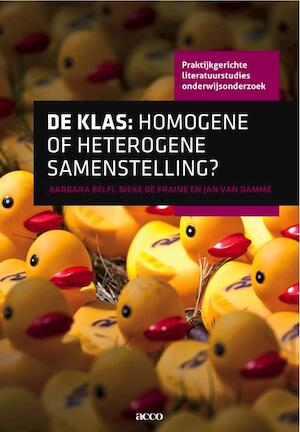 De klas: homogene of heterogene samenstelling - Barbara Belfi