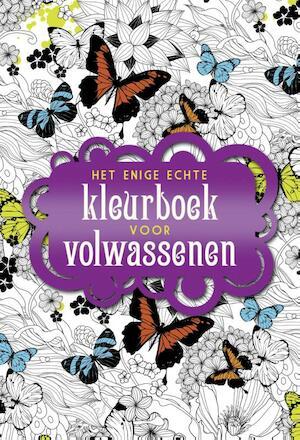 Het enige echte kleurboek voor volwassenen -