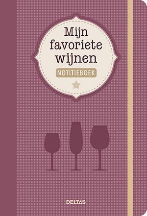 Mijn favoriete wijnen notitieboek -
