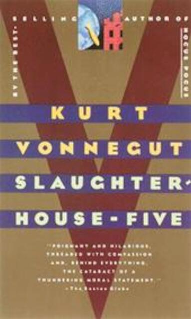 report on kurt vonneguts slaughterhouse five Based on his experiences as a pow during the allied bombing of dresden in  1945, kurt vonnegut's slaughterhouse-five is (rightfully).