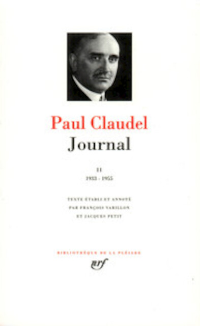 Journal - Tome II - Paul Claudel