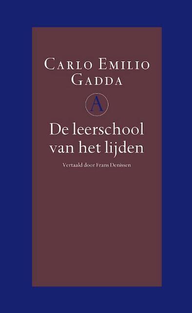 De leerschool van het lijden - Carlo Emilio Gadda