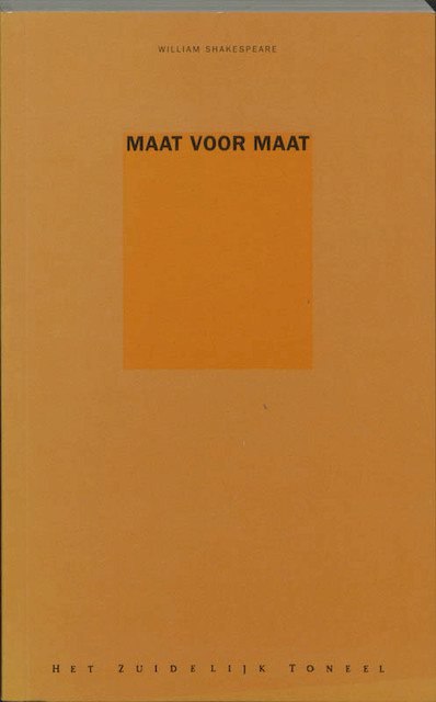 Maat voor maat - William Shakespeare