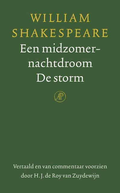 Een midzomernachtdroom / De storm - William Shakespeare