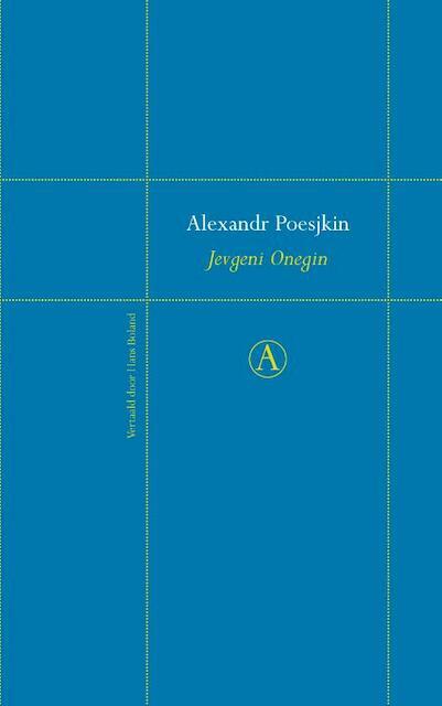 Jevgeni Onegin - Alexandr Poesjkin