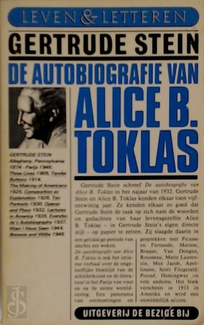 Autobiografie van alice b. toklas - Stein