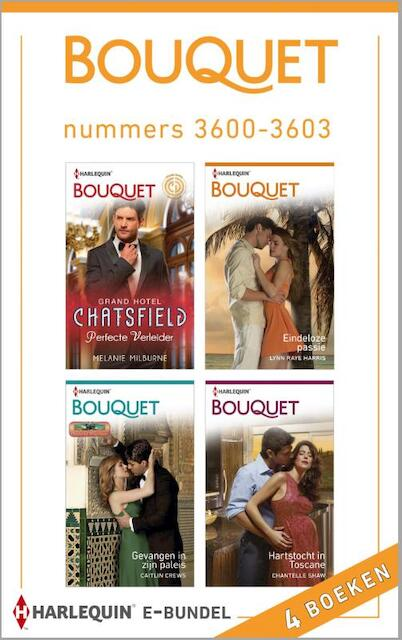 Bouquet e-bundel nummers 3600-3603 - Melanie Milburne