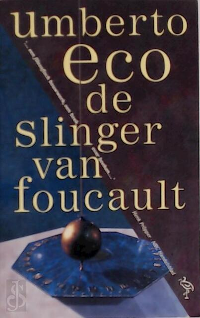 De slinger van Foucault - Umberto Eco, Yond Boeke