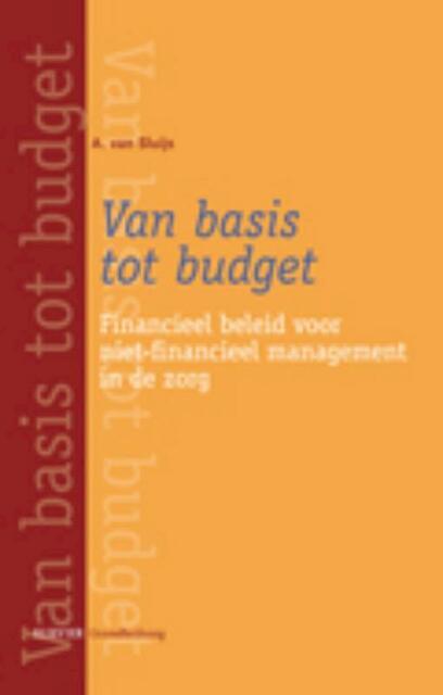 Van basis tot budget - Angélique van Sluijs
