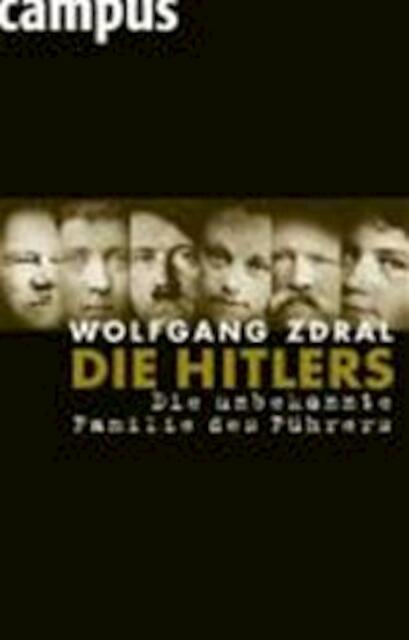 Die Hitlers - Wolfgang Zdral