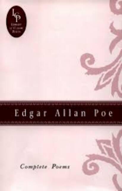 Complete poems - Edgar Allan Poe