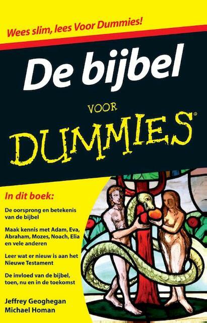 De bijbel voor Dummies pocketeditie - Jeffrey Geoghegan, Michael Homan