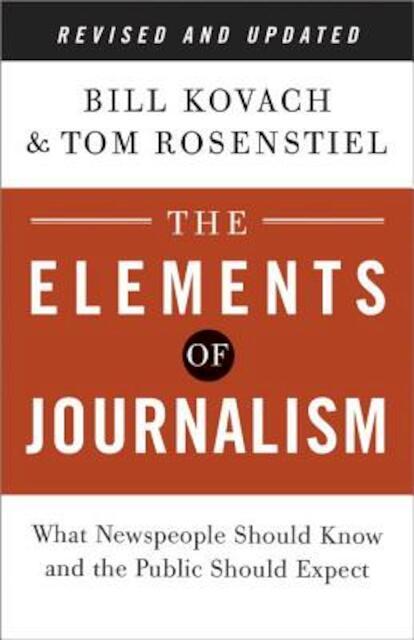 elements of journalism kovach pdf