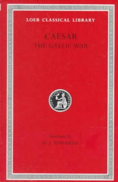 Gallic War L072 V 1 (Trans. Edwards) (Latin) - Caesar