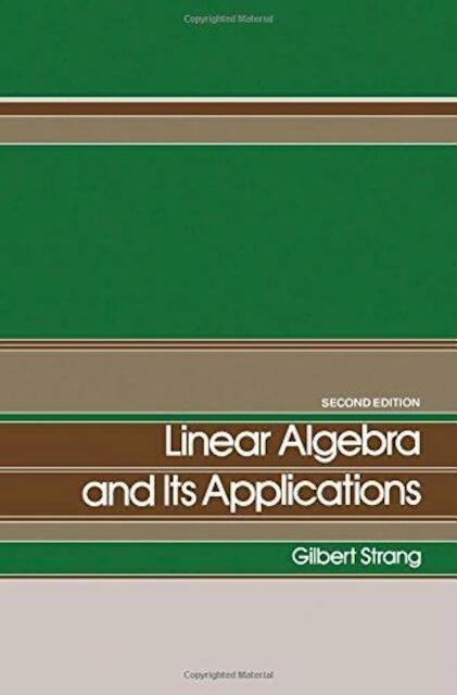 Linear Algebra and Its Applications - Gilbert Strang