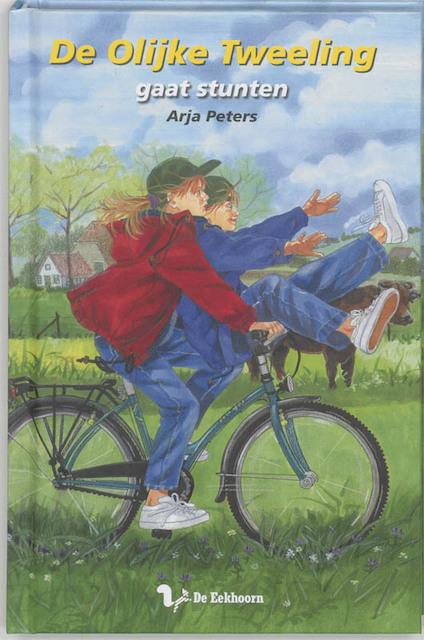 de olijke tweeling Gaat stunten - A. Peters ; A.M. Peters