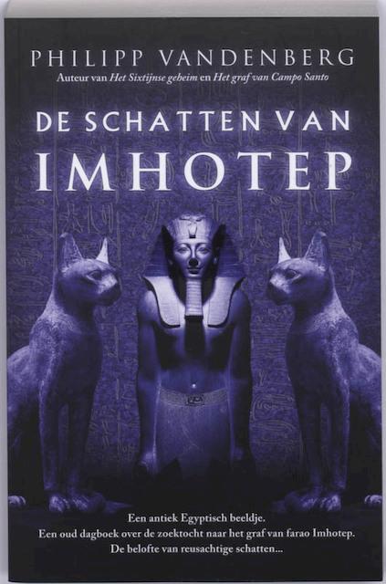 De schatten van Imhotep - P. Vandenberg, Philipp Vandenberg