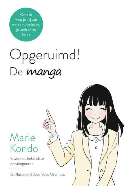 Opgeruimd! - De manga - Marie Kondo