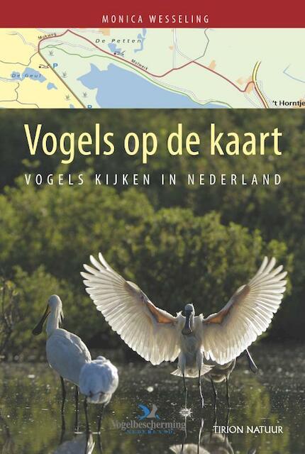 Vogels op de kaart - Monica Wesseling